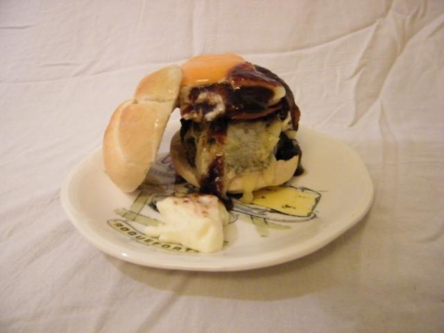 hamburger, umami burger