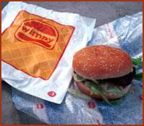wimpy hamburger