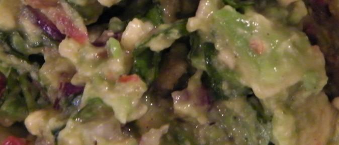 Guacamole, olé! (Of, een van Saar 's favorieten voor haar verjaardag! !)